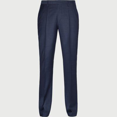 Lenon2 Bukser Regular | Lenon2 Bukser | Blå