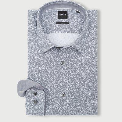 Ronni_53 Skjorte Slim fit | Ronni_53 Skjorte | Blå