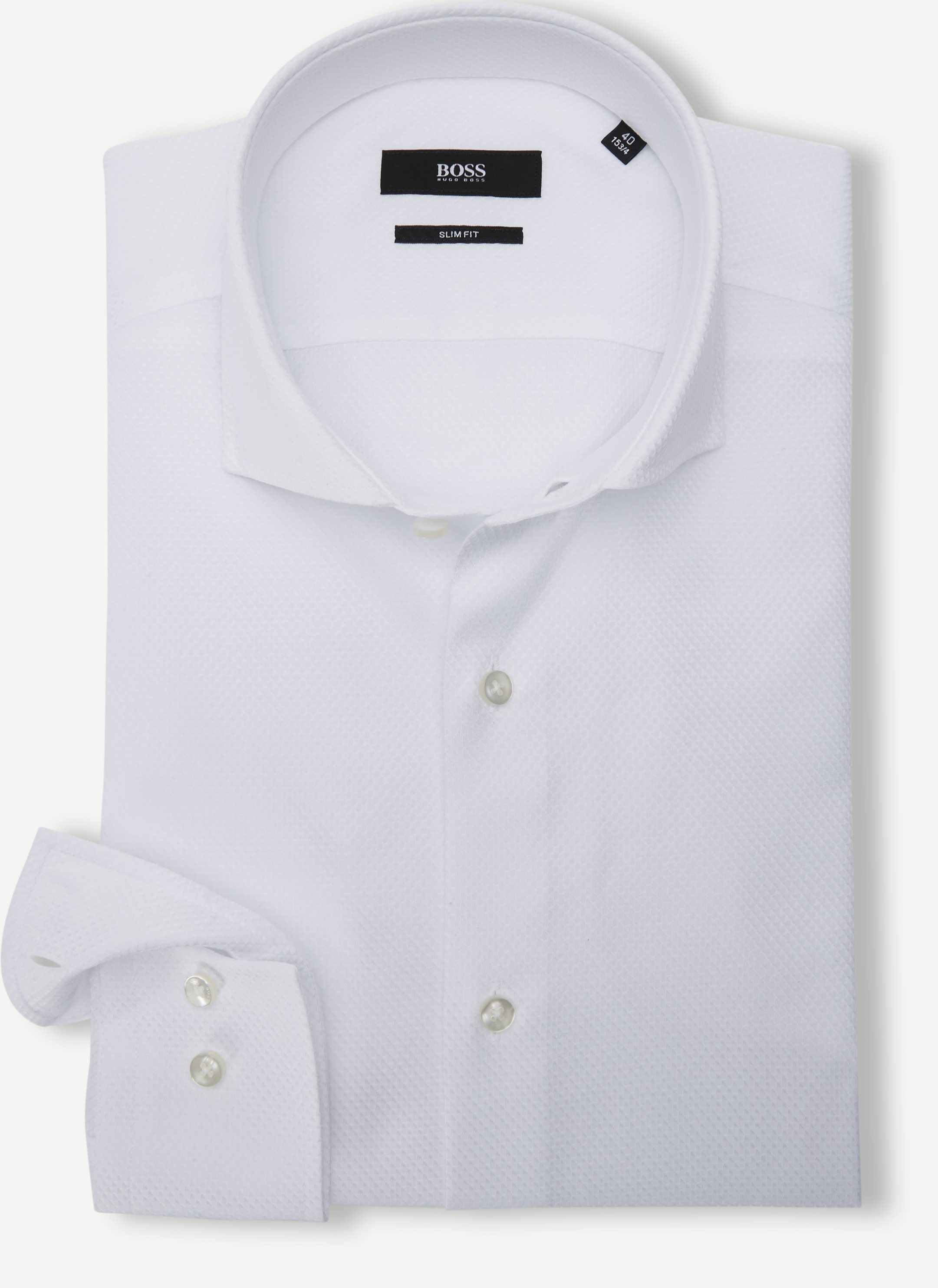 Shirts - Slim - White