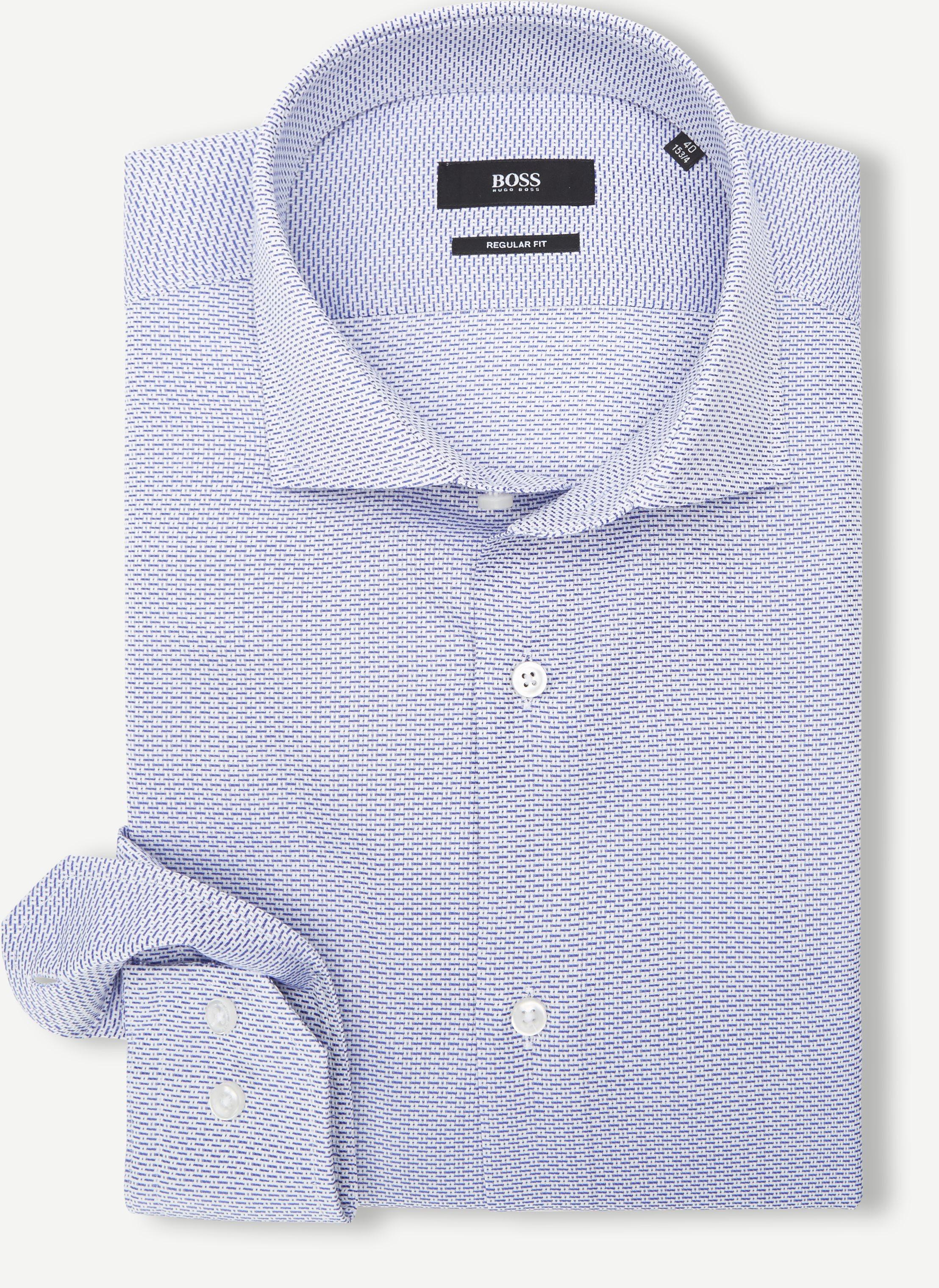 Shirts - Regular - Blue