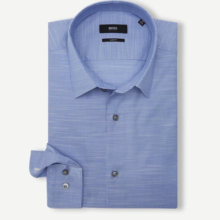 Isko Skjorte - Skjorter - Slim - Blå