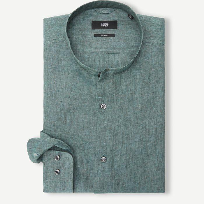 Jordi Skjorte - Skjorter - Slim - Grøn