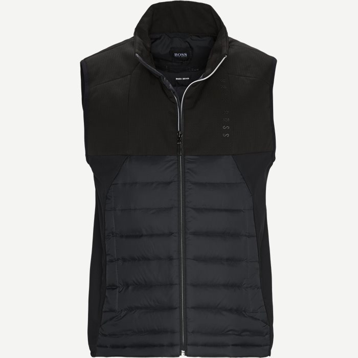 V_Paros Vest - Veste - Regular - Sort