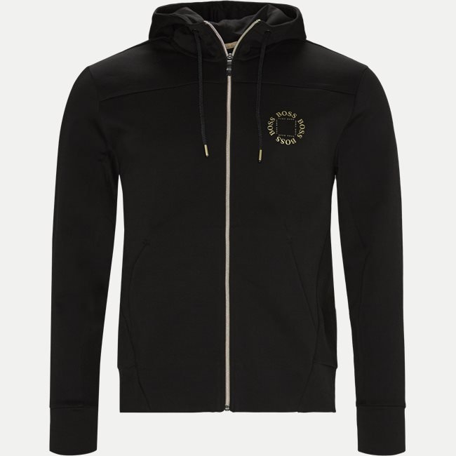 Saggy Circle Zip Sweatshirt