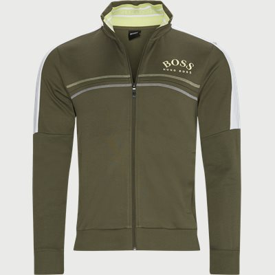 Skaz Zip Sweatshirt Regular | Skaz Zip Sweatshirt | Army