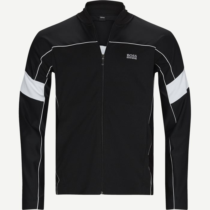 Sicon Track Jacket - Sweatshirts - Regular - Sort