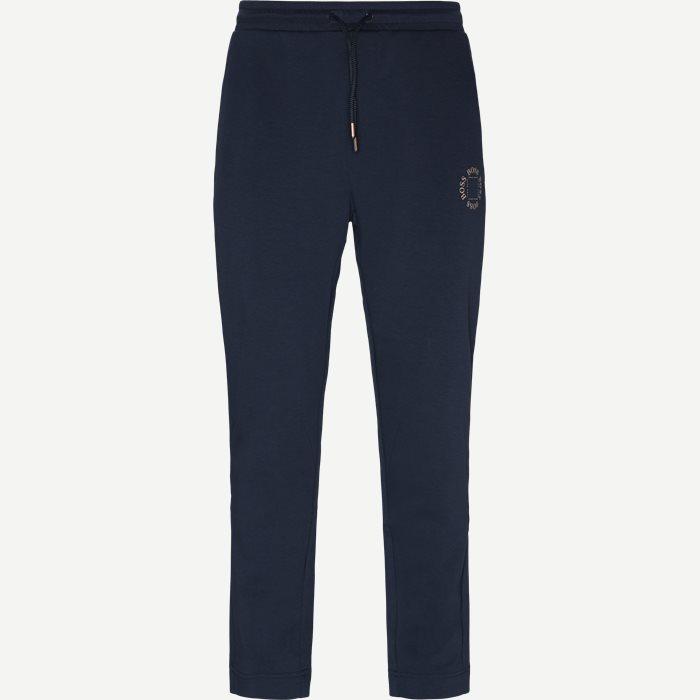 Halboa Circle Sweatpant - Bukser - Blå