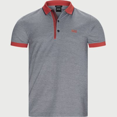 Paule 4 Polo T-shirt Slim | Paule 4 Polo T-shirt | Blå