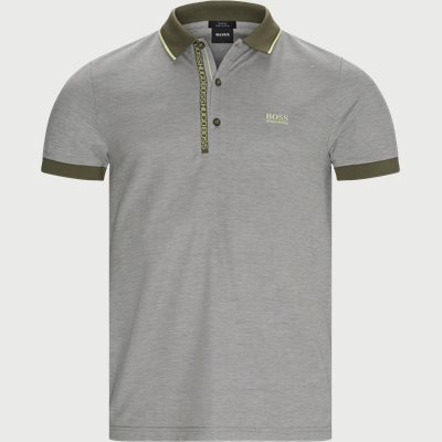 Paule 4 Polo T-shirt Slim | Paule 4 Polo T-shirt | Army