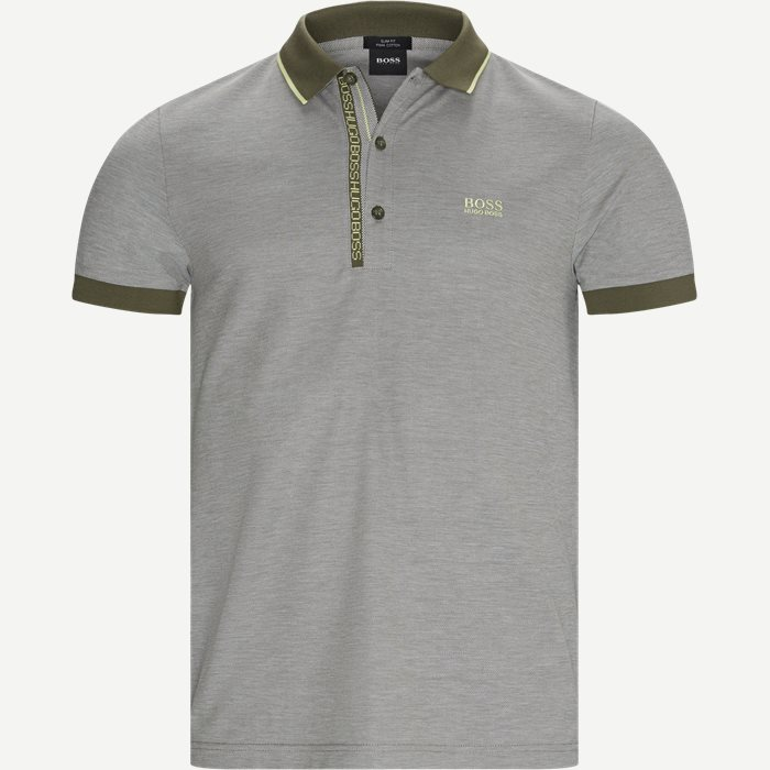 Paule 4 Polo T-shirt - T-shirts - Slim - Army