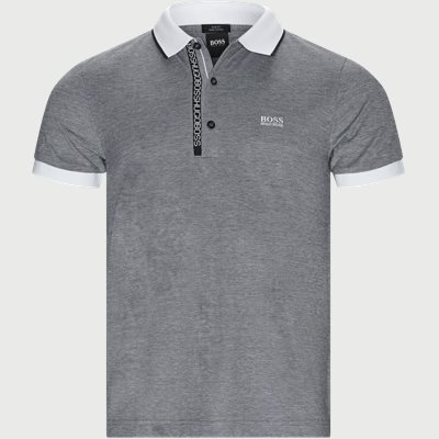 Paule 4 Polo T-shirt Slim | Paule 4 Polo T-shirt | Sort