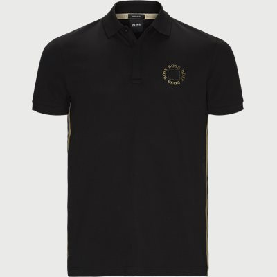 Paddy 8 Polo T-shirt Regular | Paddy 8 Polo T-shirt | Sort