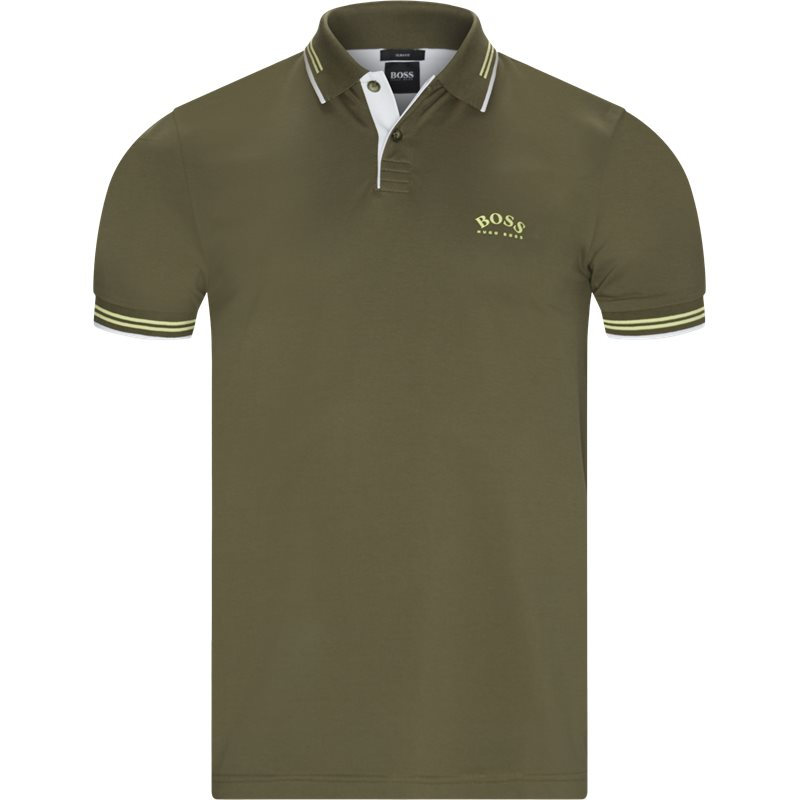 Image of   Boss Athleisure - Paul Curved Polo T-shirt