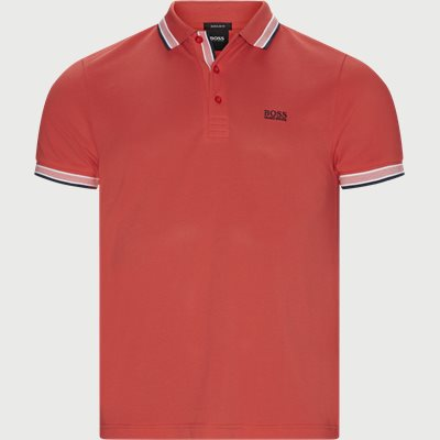 Paddy Polo T-shirt Regular | Paddy Polo T-shirt | Rød