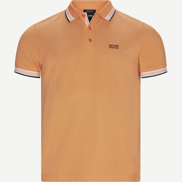 Paddy Polo T-shirt - T-shirts - Regular - Orange