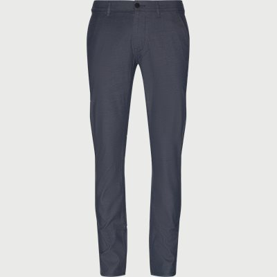 Slim fit | Byxor | Blå