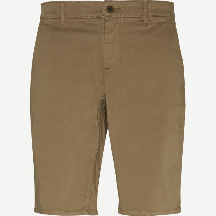 Shorts - Slim - Brown
