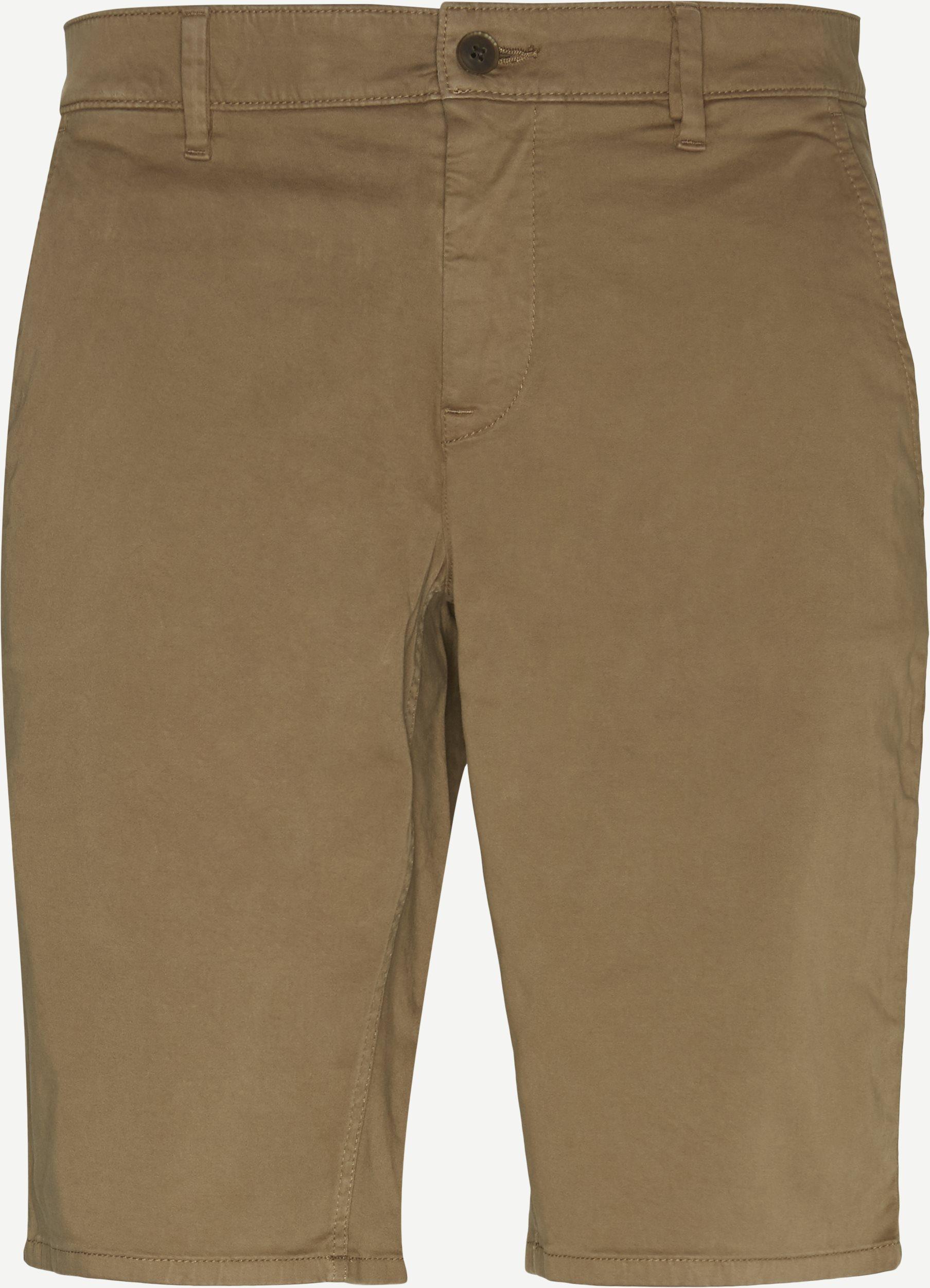 Shorts - Slim - Brown