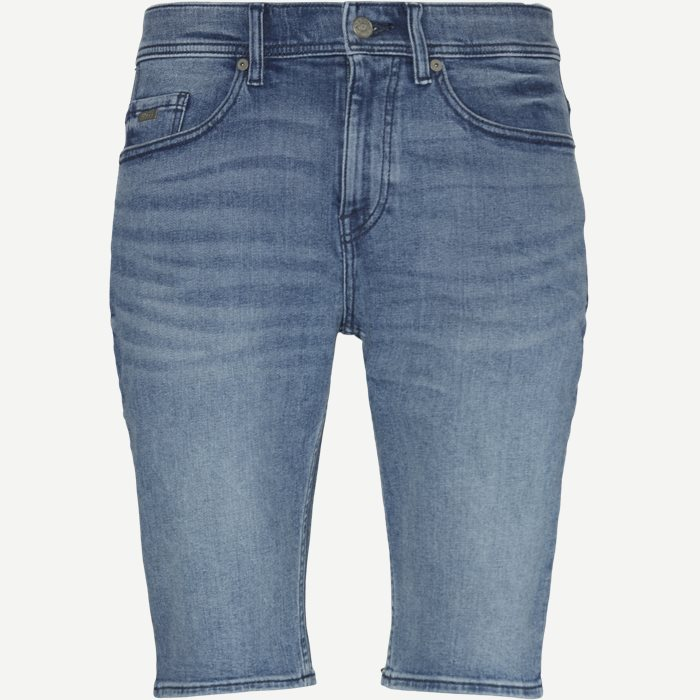 Shorts - Tapered fit - Jeans-Blau