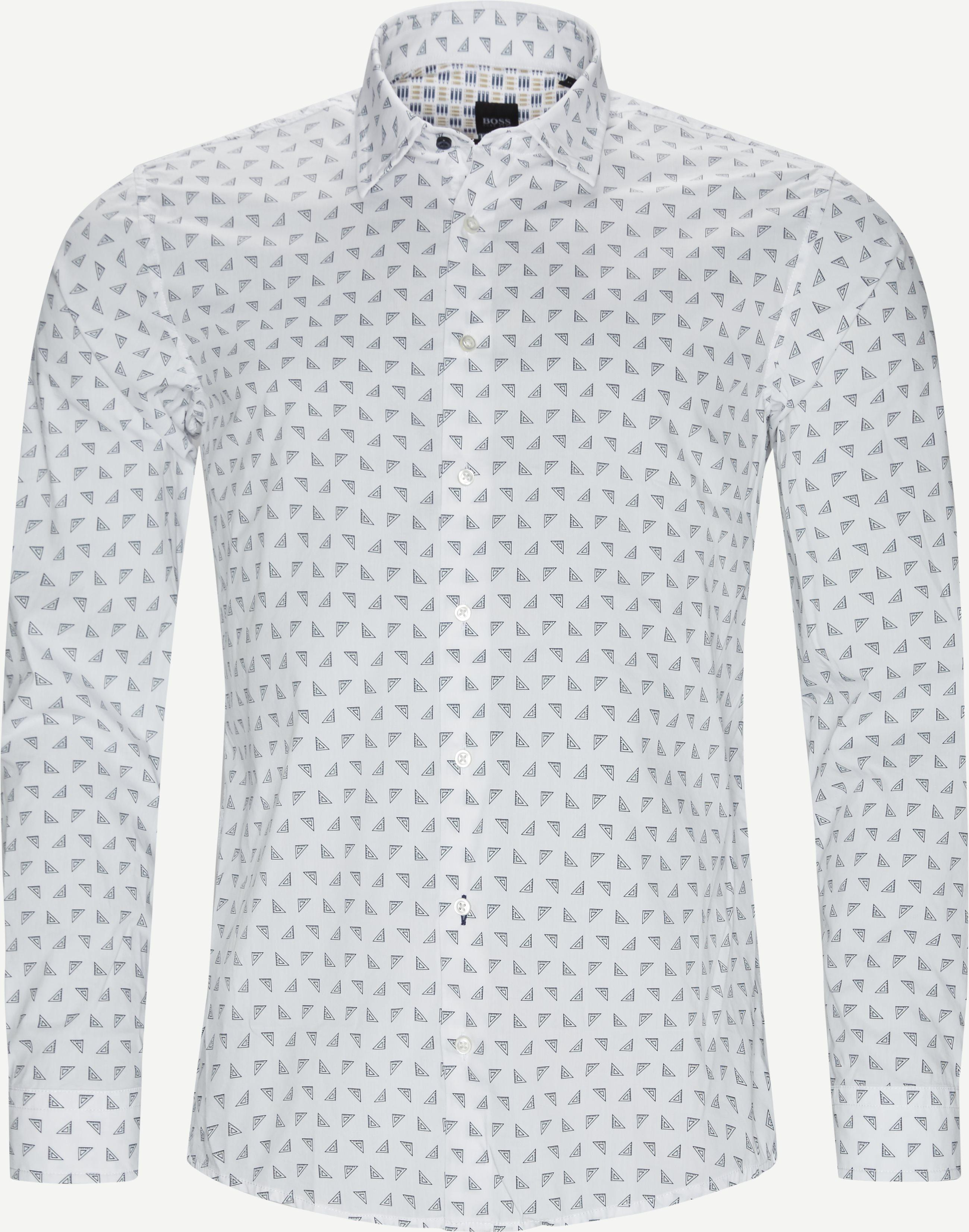 Skjortor - Slim fit - Vit