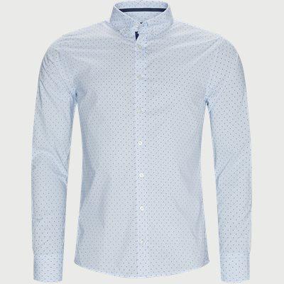 Mabsoot Skjorte Slim | Mabsoot Skjorte | Blå