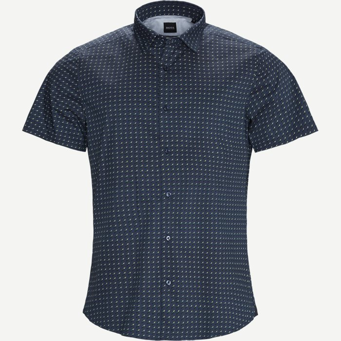 Short-sleeved shirts - Regular - Blue