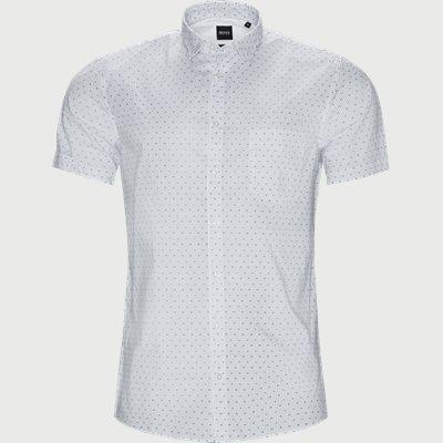 Magneton_1 Kortærmet Skjorte Slim | Magneton_1 Kortærmet Skjorte | Hvid