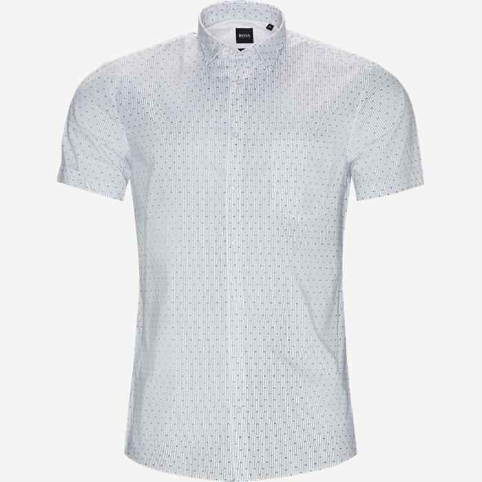 Magneton_1 Kortærmet Skjorte - Kortærmede skjorter - Slim - Hvid
