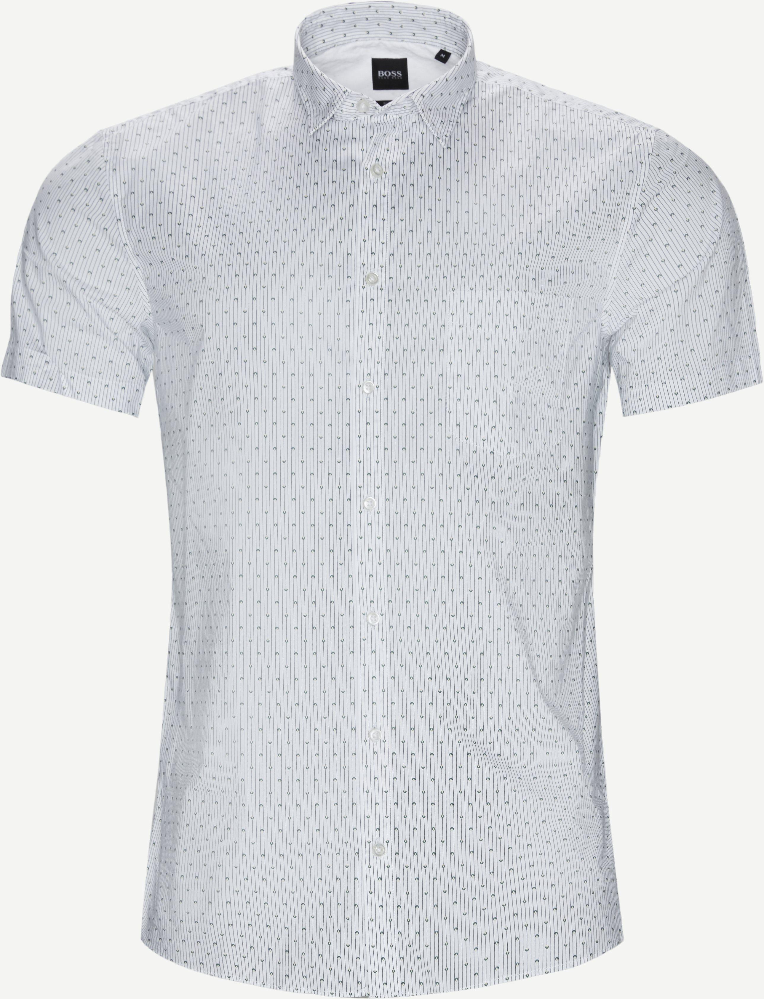 Kortärmade skjortor - Slim fit - Vit