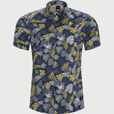 Regular | Kortärmade skjortor | Blå