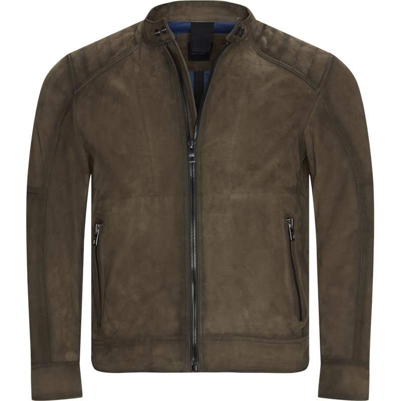 Image of   Boss Casual - Jetrik Leather Jacket
