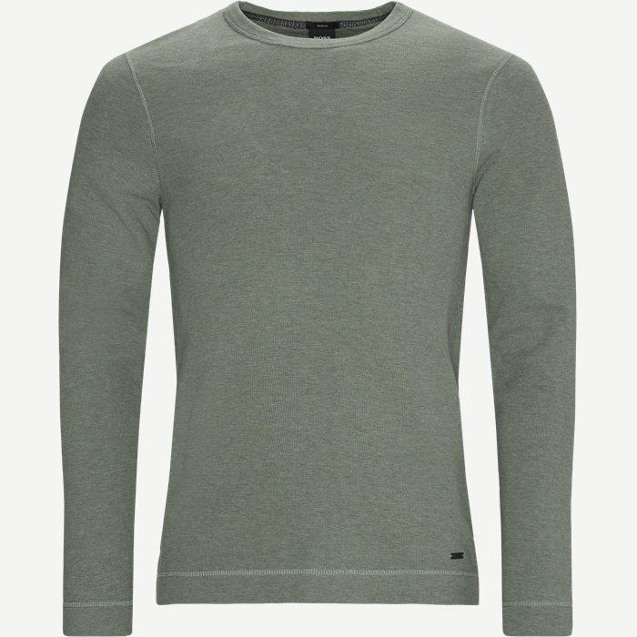 T-Shirts - Slim - Oliv