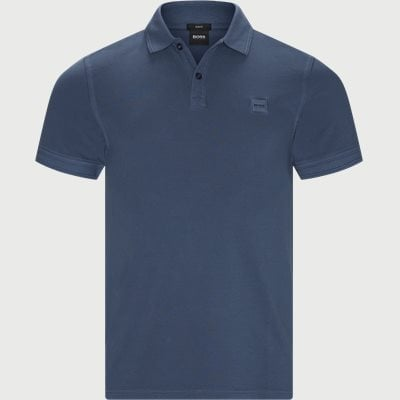 Prime Polo T-shirt Slim | Prime Polo T-shirt | Blå