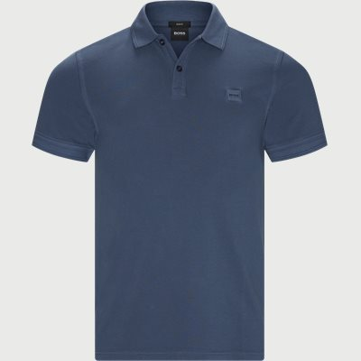 Prime Polo T-shirt Slim fit | Prime Polo T-shirt | Blå