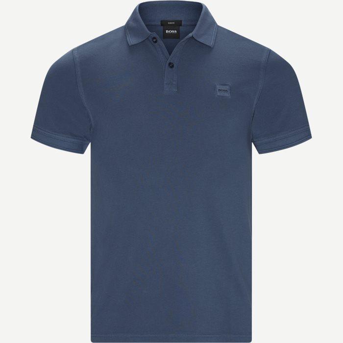 Prime Polo T-shirt - T-shirts - Slim - Blå