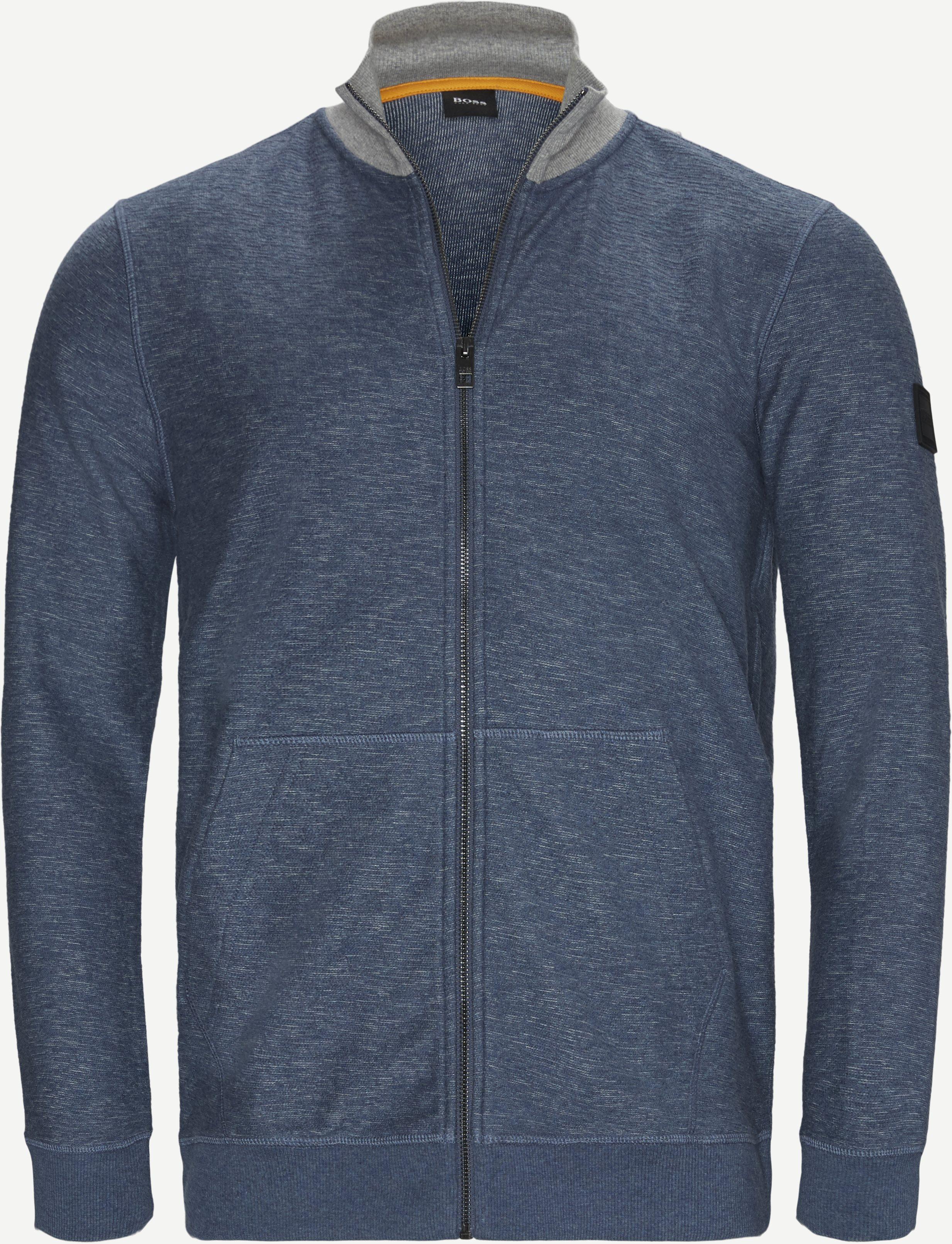 Sweatshirts - Regular - Blå