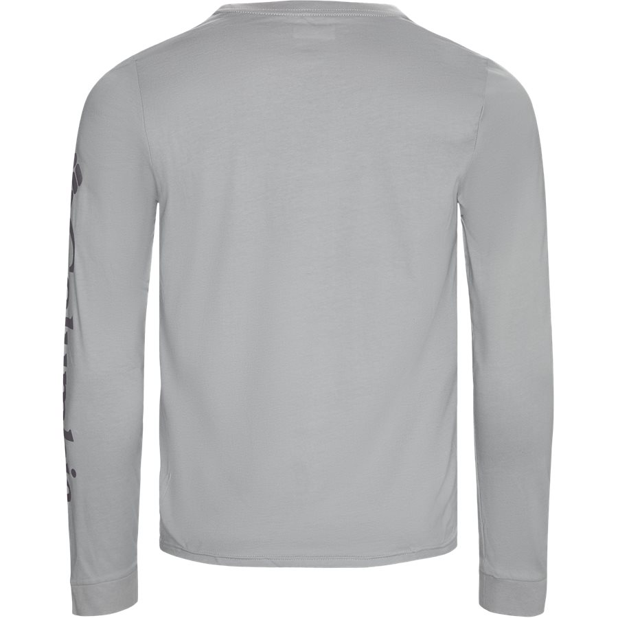 LODGE LS - Logde LS Graphic Tee - T-shirts - Regular - GRAPHITE - 2