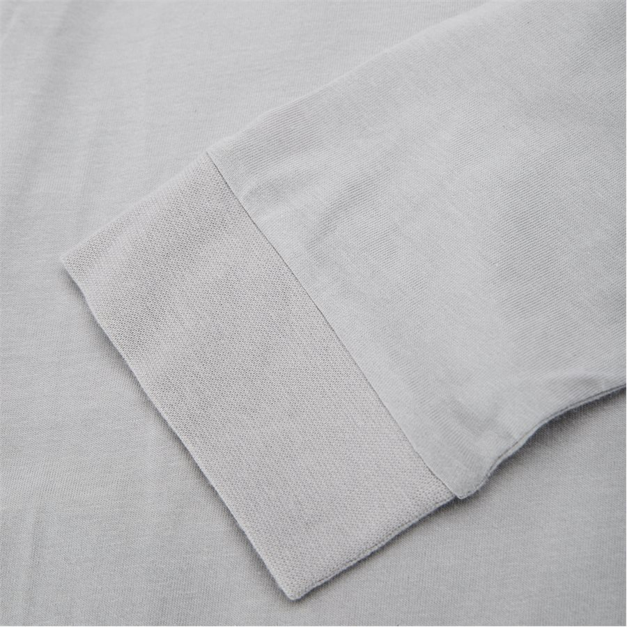 LODGE LS - Logde LS Graphic Tee - T-shirts - Regular - GRAPHITE - 7