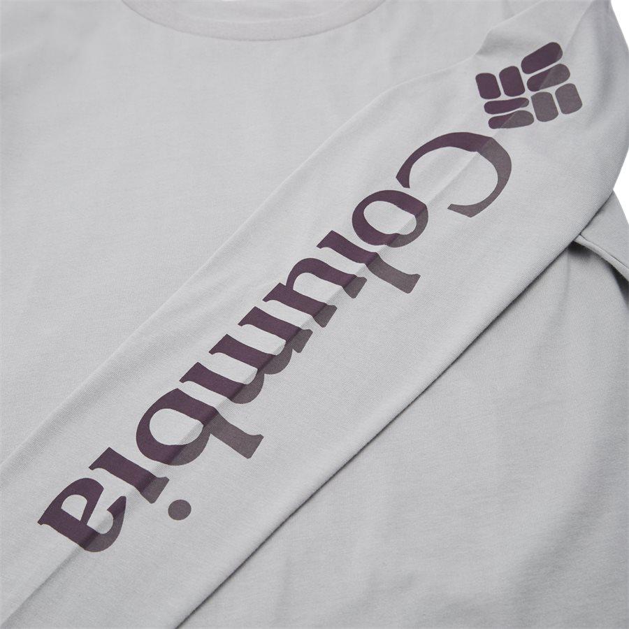 LODGE LS - Logde LS Graphic Tee - T-shirts - Regular - GRAPHITE - 8