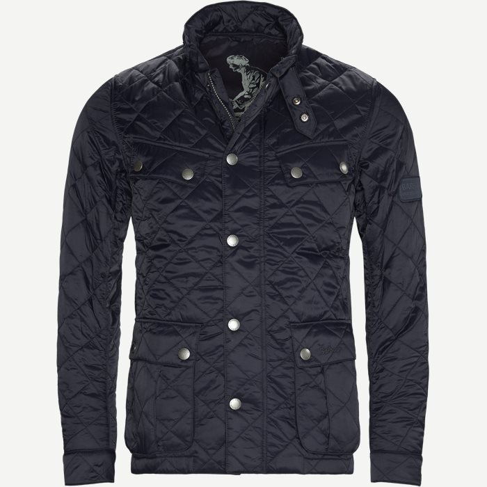 Ariel Quilted Jacket - Jakker - Regular - Blå