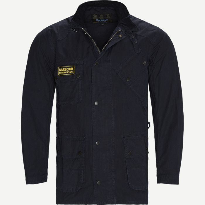 Summer Wash A7 Jacket - Jakker - Regular - Blå