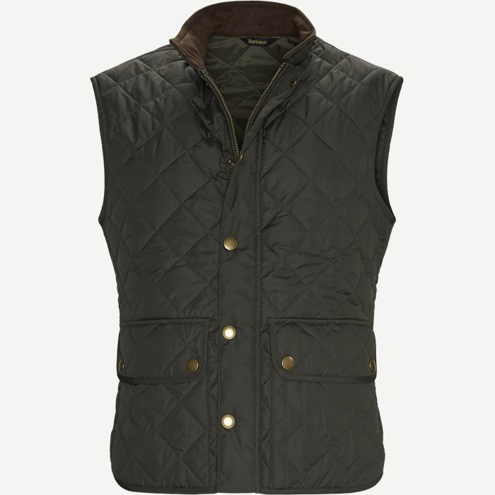 Lower Dale Quiltet Vest - Veste - Regular - Army