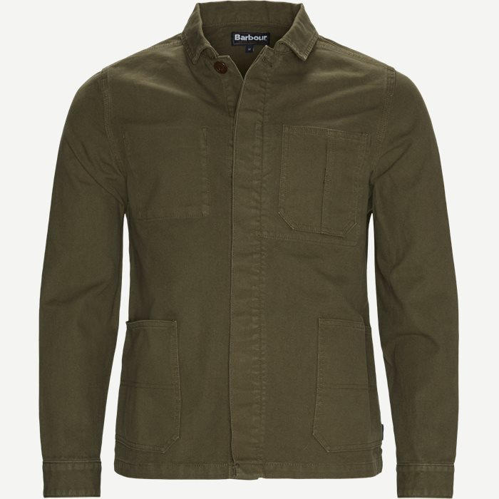 Duncansea Overshirt - Skjorter - Regular - Army