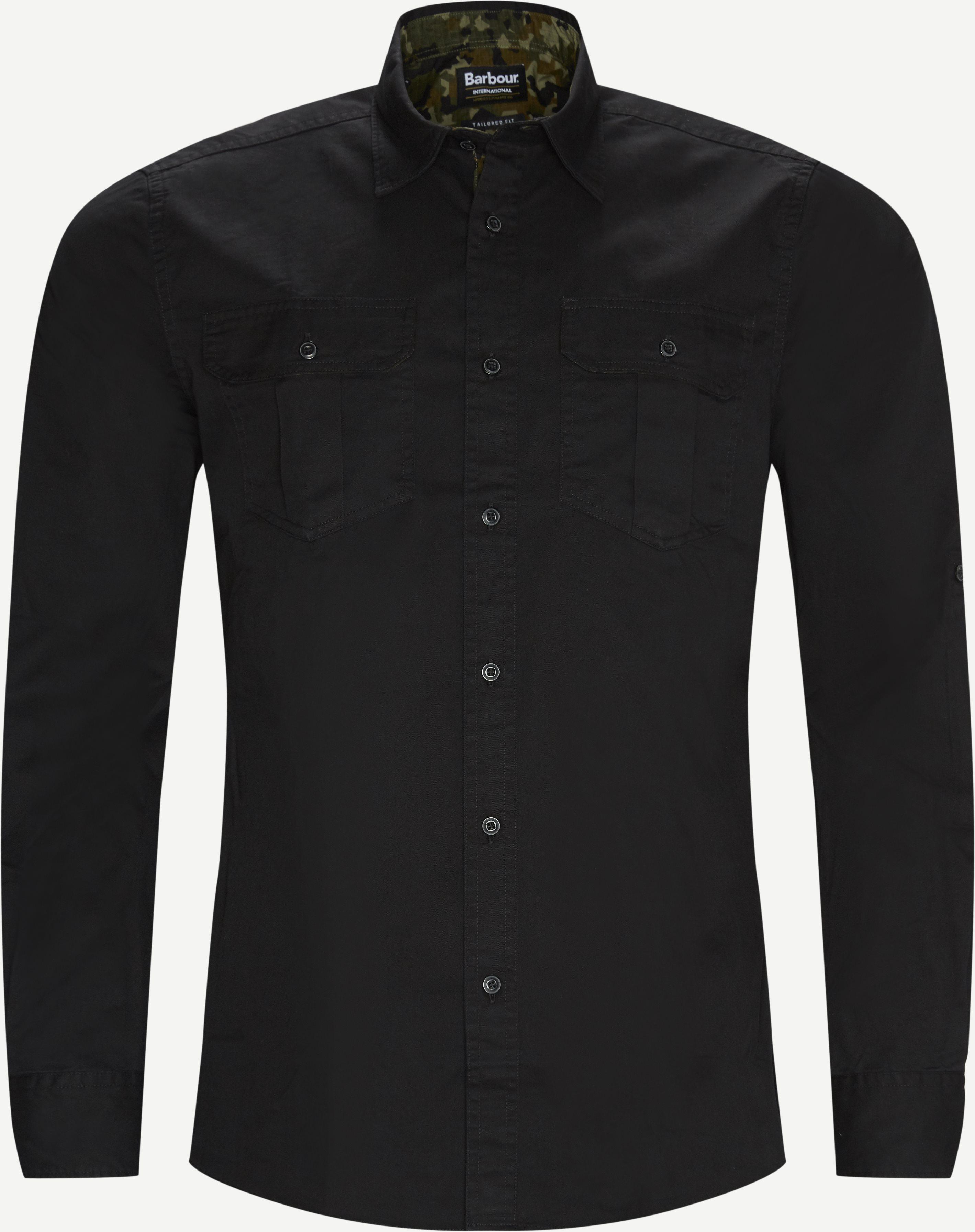 Hemden - Tailored fit - Schwarz