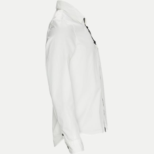 Garbadine Zip-Up Shirt
