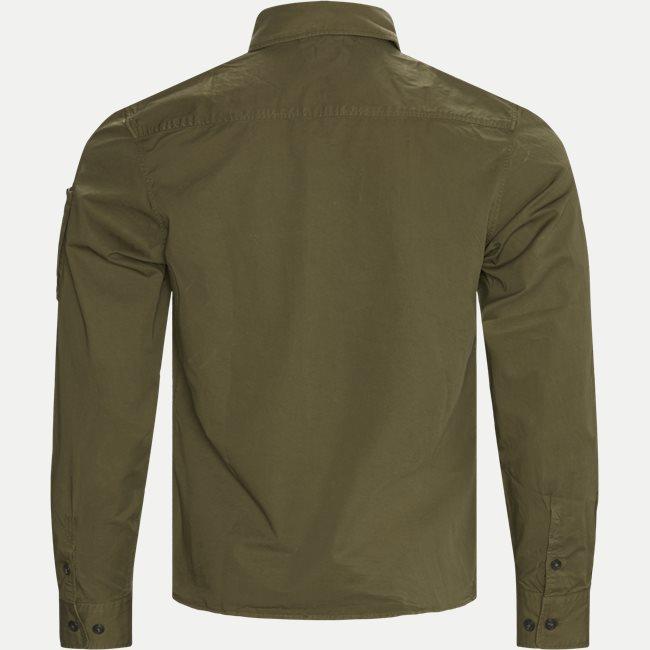 Garbadine Zip-Up Shirt