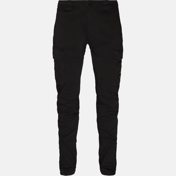 Lens Logo Cargo Pant - Bukser - Regular - Sort