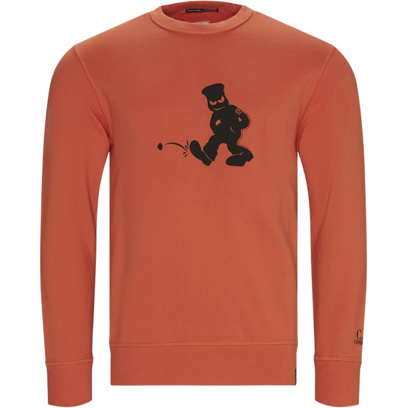 Image of   C.p. Company - Comics And Cars Crew Neck Sweatshirt