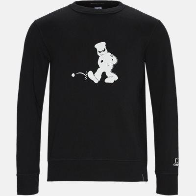 Comics And Cars Crew Neck Sweatshirt Regular | Comics And Cars Crew Neck Sweatshirt | Sort