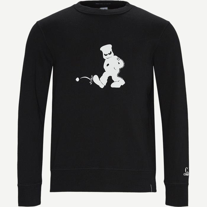 Sweatshirts - Regular - Svart